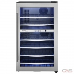 "Danby DWC040A3BSSDD Wine Cooler, 19 2/5"" Width, 38 Wine Bottle Capacity, Stainless Steel colour"