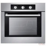 Decorelex F51EX Single Wall Oven, 24 Exterior Width, Convection, 2.0 Capacity, Stainless Steel colour