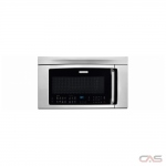 Electrolux EI30BM6CPS Over the Range Microwave, 30 Exterior Width, Convection, 1000W Watts, 1.8 cu. ft. Capacity, Incandescent, Stainless Steel Interior, 400 CFM, Stainless Steel colour