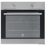 Electrolux EI24EW35LS Single Wall Oven, 24 Exterior Width, Convection, 2.7 Capacity, Stainless Steel colour