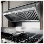 Elica ETT142SS Range Hood, 42 Exterior Width, Canopy, Halogen, 1200 CFM, Wall Mounted, Stainless Steel colour