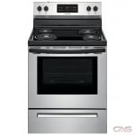 Frigidaire CFEF3016VS Range, Electric Range, 30 Exterior Width, Self Clean, 4 Burners, Coil Burners (Electric), Storage Drawer, 5.36 Capacity, 1 Ovens, Free Standing, 2400W, Stainless Steel colour