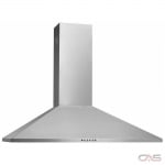 Frigidaire FHWC3055LS Range Hood, 30 Exterior Width, Chimney, Accepts Both, Halogen, 400 CFM, Wall Mounted, Dishwasher Safe Filters, Aluminum Mesh, Stainless Steel colour Blower Included