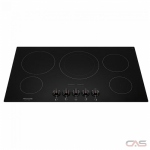 Frigidaire Gallery FGEC3648UB Cooktop, Electric Cooktop, 36 inch, 5 Burners, Glass Ceramic, 3200W, Black colour