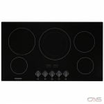 Frigidaire Gallery FGEC3648UB Cooktop, Electric Cooktop, 36 inch, 5 Burners, 3200W, Black colour