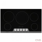 Frigidaire Gallery FGEC3648US Cooktop, Electric Cooktop, 36 inch, 5 Burners, 3200W, Black colour