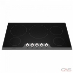 Frigidaire Gallery FGEC3648US Cooktop, Electric Cooktop, 36 inch, 5 Burners, Glass Ceramic, 3200W, Black colour