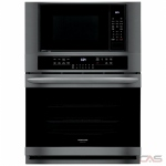 Frigidaire Gallery FGMC3066UD Microwave Wall Oven, 30 Exterior Width, Self Clean, One Compartment Convection, Temperature Probe, 7.3 cu. ft. Capacity, Black Stainless Steel colour