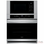 Frigidaire Gallery FGMC3066UF Microwave Wall Oven, 30 Exterior Width, Self Clean, One Compartment Convection, Temperature Probe, 7.3 cu. ft. Capacity, Stainless Steel colour