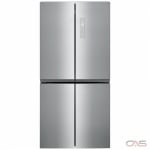 Frigidaire FFBN1721TV French Door Refrigerator, 33 Width, 17.0 Capacity, LED Lighting, Stainless Steel colour Stainless Steel Appearance