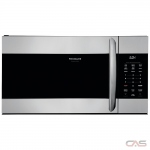 Frigidaire CGMV17WNVF Over the Range Microwave, 30 Exterior Width, 1000 Watts, 1.7 Capacity, LED, 300 CFM, Stainless Steel colour