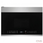 Frigidaire UMV1422US Over the Range Microwave, 24 Exterior Width, 1000 Watts, 1.4 Capacity, LED, 300 CFM, Stainless Steel colour