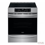 Frigidaire CGIH3047VF Range, Electric Range, 30 Exterior Width, Self Clean, Convection, 4 Burners, Induction Elements, Storage Drawer, 5.4 cu. ft. Capacity, 1 Ovens, Slide In, 3600W, Stainless Steel colour AirFry Range