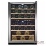 Frigidaire FFWC3822QS Wine Cooler, 22 Width, 38 Wine Bottle Capacity, Stainless Steel colour