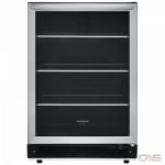 Frigidaire FGBC5334VS Beverage Center, 23 7/16 Width, Free Standing & Built In, Stainless Steel colour