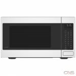 GE Cafe CEB515P4MCWM Countertop Microwave, 20 Exterior Width, Convection, 1000W Watts, 1.5 cu. ft. Capacity, Stainless Steel Interior, Matte White colour