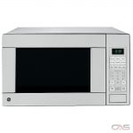 GE JES1140STC Countertop Microwave, 20 Exterior Width, 1100W Watts, 1.1 cu. ft. Capacity, Stainless Steel colour