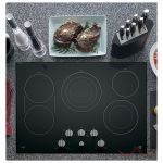 GE Cafe CP9530SJSS Cooktop, Electric Cooktop, 30 inch, 5 Burners, Stainless Steel colour