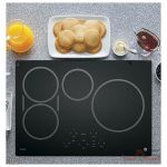 GE Profile PHP9030DJBB Cooktop, Induction Cooktop, 30 inch, 4 Burners, Black colour
