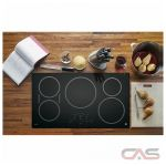 GE Profile PHP9036DJBB Cooktop, Induction Cooktop, 36 inch, 5 Burners, Black colour