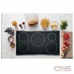 GE Profile PHP9036SJSS Cooktop, Induction Cooktop, 36 inch, 5 Burners, Stainless Steel colour