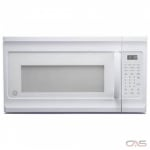 GE JVM2160DMWW Over the Range Microwave, 30 Exterior Width, 1100 Watts, 1.6 Capacity, 300 CFM, White colour