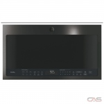 GE PVM2188BMTSC Over the Range Microwave, 30 Exterior Width, 1050 Watts, 2.1 Capacity, 400 CFM, Black Stainless Steel colour