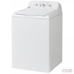 "GE GTW330BMMWW Top Load Washer, 27"" Width, 4.4 cu. ft. Capacity, 11 Wash Cycles, 6 Temperature Settings, 700 RPM Washer Spin Speed, White colour"