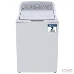 "GE GTW485BMMWS Top Load Washer, 27"" Width, 4.9 cu. ft. Capacity, 13 Wash Cycles, 6 Temperature Settings, 800 RPM Washer Spin Speed, ENERGY STAR Certified, White colour"