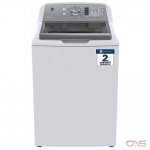 "GE GTW680BMMWS Top Load Washer, 27"" Width, 5.3 cu. ft. Capacity, 14 Wash Cycles, 6 Temperature Settings, 800 RPM Washer Spin Speed, ENERGY STAR Certified, White colour"