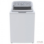 GE GTW575BMMWS Top Load Washer, 26 7/8 Width, 5.0 Capacity, 13 Wash Cycles, 6 Temperature Settings, 800 Washer Spin Speed, ENERGY STAR Certified, White colour *2 Year Parts and Labour Warranty