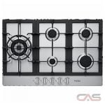Haier HCC3230AGS Cooktop, Gas Cooktop, 30 inch, 5 Burners, Stainless Steel colour