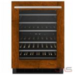 Jenn-Air JUW24FRECX Under Counter Wine Refrigeration, 23 7/8 Width, Built In, Custom Panel Ready, 37-48 Wine Bottle Capacity, Panel Ready