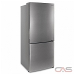 LG LBNC15221V Counter Depth Refrigerator, 28 Width, Energy Efficient, 14.7 Capacity, Counter Depth, LED Lighting