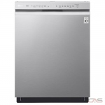 LG LDF5545ST Built-In Undercounter Dishwasher, 24 Exterior Width, 9 Wash Cycles, Stainless Steel (Interior), 2 Loading Racks, Full Console, 15 Capacity (Place Settings), Hard Food Disposal, 48 dB Decibel Level, Wifi Enabled, Stainless Steel colour