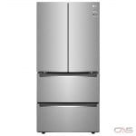 LG LRMNC1803S, 33 Width, Energy Efficient, 18.0 Capacity, LED Lighting, Fingerprint Resistant, Stainless Steel colour