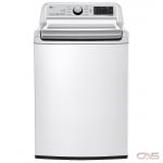 "LG WT7300CW Top Load Washer, 27"" Width, 5.8 cu. ft. Capacity, 8 Wash Cycles, 5 Temperature Settings, 950 RPM Washer Spin Speed, Wifi Enabled, ENERGY STAR Certified, White colour"