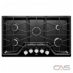 Maytag MGC7536DE Cooktop, Gas Cooktop, 36 inch, 5 Burners, Black colour