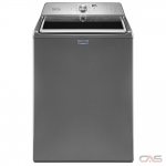 Maytag MVWB765FC Top Load Washer, 27 Width, 5.4 Capacity, 11 Wash Cycles, 900 Washer Spin Speed, Silver colour