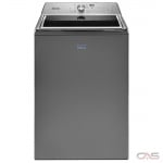 Maytag MVWB865GC Top Load Washer, 27 1/2 Width, 6.0 Capacity, 11 Wash Cycles, 850 Washer Spin Speed, Metallic Slate colour