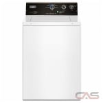 Maytag MVWP575GW Top Load Washer, 27'' Width, 4.0 Cu. Ft. Capacity, 7 Wash Cycles, 5 Temperature Settings, 700 Washer Spin Speeds (RPM)