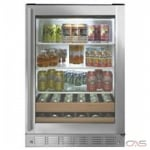 "Monogram ZDBR240NBS Under Counter Refrigeration, 24"" Width, Stainless Steel colour"
