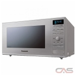 Panasonic NNGD693SC Countertop Microwave, 20 Exterior Width, 1000W Watts, 1.1 cu. ft. Capacity, Stainless Steel colour