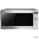 Panasonic NNSD765S Countertop Microwave, 20 Exterior Width, 1200W Watts, 1.6 cu. ft. Capacity, Stainless Steel colour
