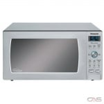 Panasonic NNSD786S Countertop Microwave, 20 Exterior Width, 1200W Watts, 1.6 cu. ft. Capacity, Stainless Steel colour