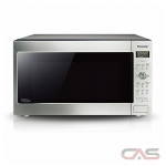 Panasonic NNSD965S Countertop Microwave, 24 Exterior Width, 1200W Watts, 2.2 cu. ft. Capacity, Stainless Steel colour