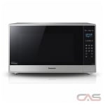 Panasonic NNSE995S Countertop Microwave, 24 Exterior Width, 1200W Watts, 2.2 cu. ft. Capacity, Stainless Steel colour