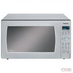 Panasonic NNSE996S Countertop Microwave, 24 Exterior Width, 1200W Watts, 2.2 cu. ft. Capacity, Stainless Steel colour