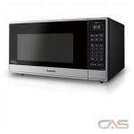 Panasonic NNST765S Countertop Microwave, 1200 Watts, 1.6 cubic ft, Stainless Steel colour