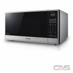 Panasonic NNST775S Microwave, 1200 Watts, 1.6 cubic ft, Stainless Steel colour